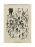 The Ashantee War, Female Fashions at Cape Coast Castle Giclée-tryk