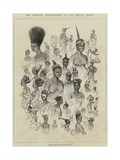 The Ashantee War, Female Fashions at Cape Coast Castle Giclee Print