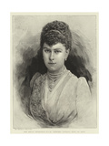 The Royal Betrothal, H S H Princess Victoria Mary of Teck Giclee Print