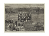 The Panama Canal, Arrival of the Engineers at Colon Giclee Print