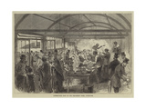 Distributing Soup at the Strangers' Home, Limehouse Giclee Print
