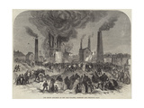 The Second Explosion at the Oaks Colliery, Barnsley Giclee Print