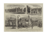 Marriage of Lord Burghley, Festivities at Stamford Giclee Print