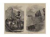Recovery of Treasure on Board the Hamilla Mitchell Giclee Print