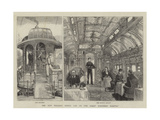 The New Pullman Dining Car on the Great Northern Railway Giclee Print