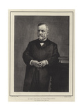 The Late M Louis Pasteur, the Eminent French Scientist Giclee Print
