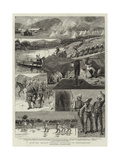 With Sir Charles Warren's Expedition to Bechuanaland Giclee Print
