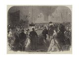 Rouge Et Noir in the Conversation-House, Heligoland Giclee Print