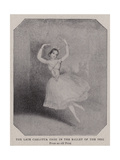 The Late Carlotta Grisi in the Ballet of the Peri Giclee Print