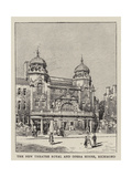 The New Theatre Royal and Opera House, Richmond Giclee Print