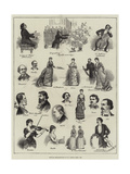 Musical Recollections of St James's Hall, 1883 Giclee Print