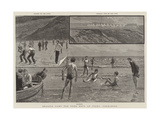 Seaside Camp for Poor Boys at Filey, Yorkshire Gicleetryck