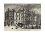 New Courthouse and Police Station, Bow-Street Giclee Print