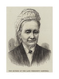The Mother of the Late President Garfield Giclee Print