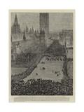 The Riot in Trafalgar Square, 13 November 1887 Giclee Print