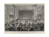 The Second Court-Martial on Captain Dreyfus Giclee Print
