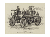 Jumbo, the Largest Steam Fire-Engine in the World Giclee Print
