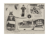The General Election, Voting in the Navy Giclée-Druck