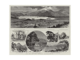The English Lake District, Illustrated, II Giclee Print