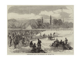 Pigeon-Shooting Match of the Hurlingham Club Giclee Print