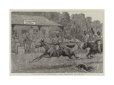 Up Country Christmas Race Meeting, Australia Giclee Print