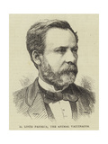 M Louis Pasteur, the Animal Vaccinator Giclee Print