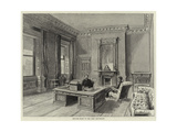 Private Study of the Lord Lieutenant Giclee Print