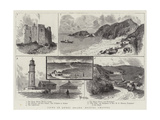 Views in Lundy Island, Bristol Channel Giclee Print