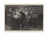 Home-Life in Germany, a Musical Evening Giclee Print