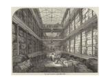 The Great Wool-Floor at the London Docks Giclee Print