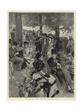 Cup Day at Ascot, the Scene on the Lawn Giclee Print