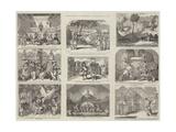Christmas Pantomimes, Burlesques, Etc Giclee Print