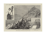 The Aerial Railway at Gibraltar Giclee Print