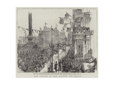 The Jubilee of Her Majesty the Queen Giclee Print