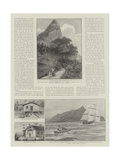 Law and Justice in Pitcairn Island Giclee Print