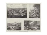 Royat-Les-Bains, Puy-De-Dome, France Giclee Print