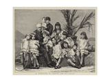 M Ferdinand De Lesseps and His Family Giclee Print