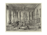 Drawing-Room in the Viceregal Lodge Giclee Print