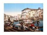 Processione Sul Canal Grande, Venice Giclee Print