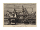 General View of the Kremlin, Moscow Giclee Print