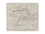 Plan of the Metropolitan Railway Giclee Print