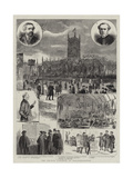 The Church Congress at Wolverhampton Giclee Print