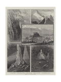 Salzburg and its Mountain Scenery Giclee Print