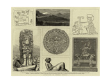 Antiquities of Central America Giclee Print