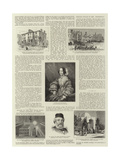 The Life of Sir Moses Montefiore Giclee Print