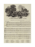 A Hymn for the Harvest of 1847 Giclee Print
