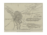 Plan of Cabul and its Approaches Giclee Print