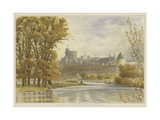 Windsor Castle from the Thames Giclee Print