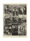 A Rat-Hunt on Board a Man-Of-War Giclee Print