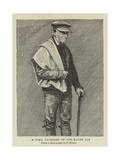 A Snail Gatherer of the Rauhe Alb Giclee Print